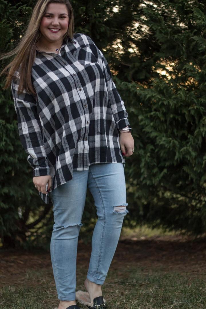 Oversized Flannel For TheWin!