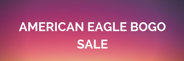 American Eagle Bogo Summer Sale!
