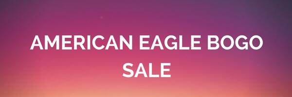 American Eagle Bogo SummerSale!